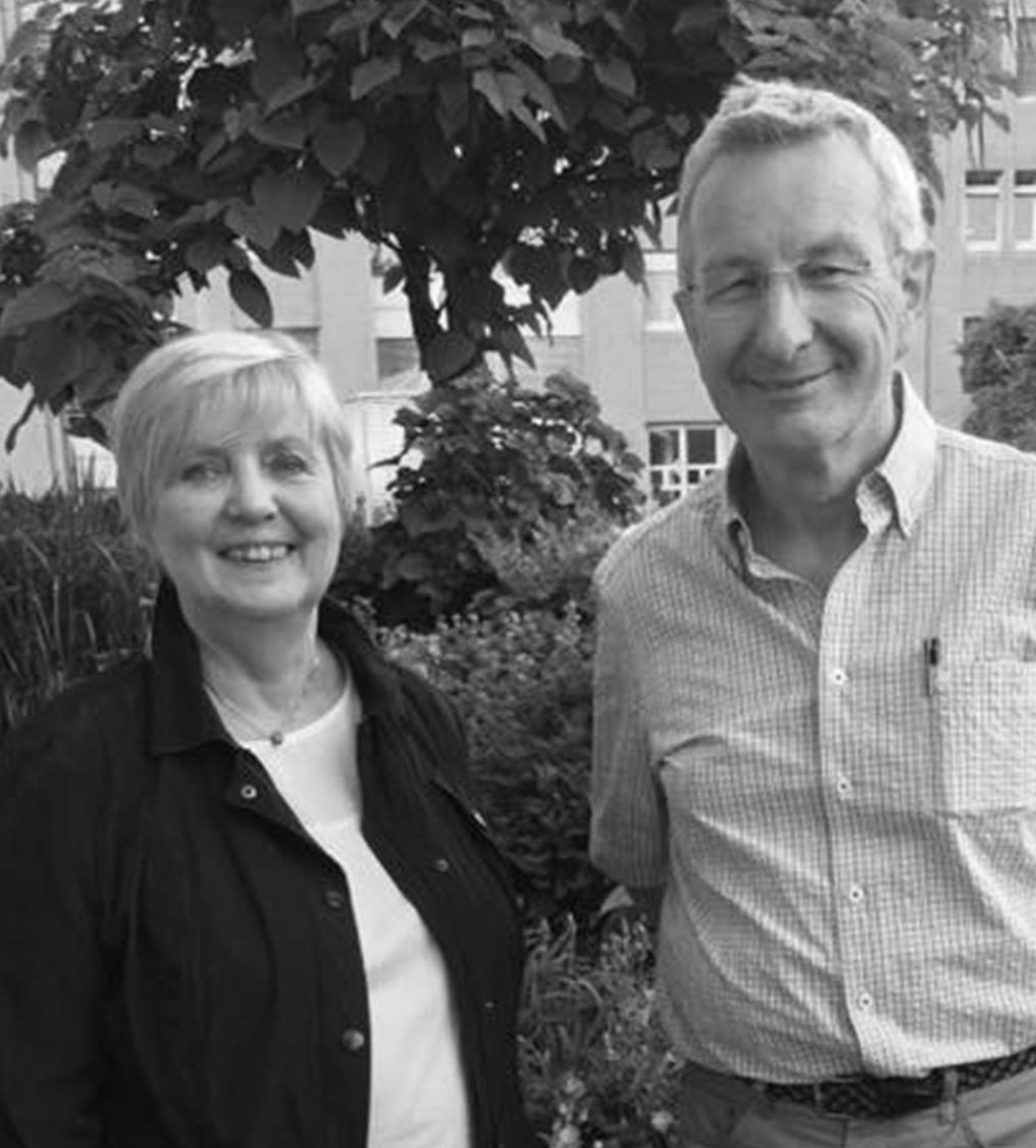 Siegrid Frings und Alfred Klaas  Beisitzerin und Schatzmeister